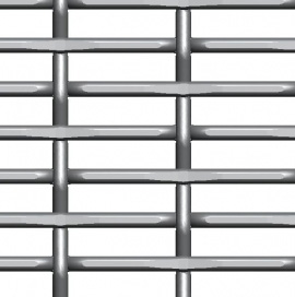 Inter Crimped Wire Mesh Lock Crimped Wire Mesh Knitted