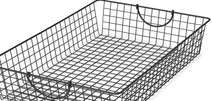 Metal Wire Basket, Chain Link Fence, Concertina Wire, Mumbai, India