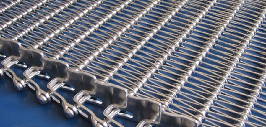 Wire Mesh Conveyor Belt Brass Perforated Sheets Metal